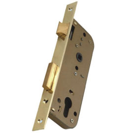 Surface Gold Painting Stainless Steel Lock Body With Cylinder 9011-40 Iso9001