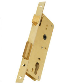 Home Entrance Stainless Steel Mortise Lock Core With 60/70mm Brass Cylinder